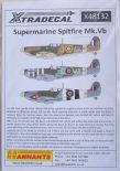 X48132 1/48 Supermarine Spitfire Mk.Vb/c decals (9)